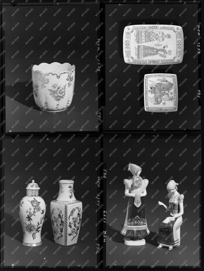 Iparművészet - Porcelán - Hollóházi porcelán