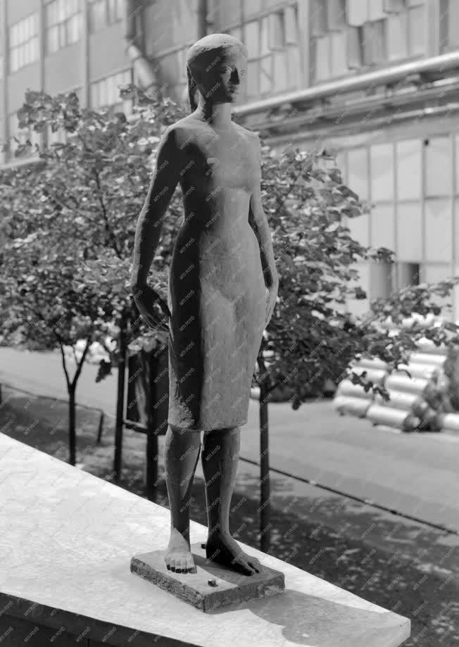 Művészet - Köztéri szobor - Munkáslány