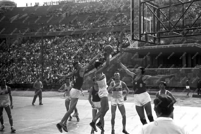 Sport - Kosárlabda - Európa-bajnokság a Népstadionban