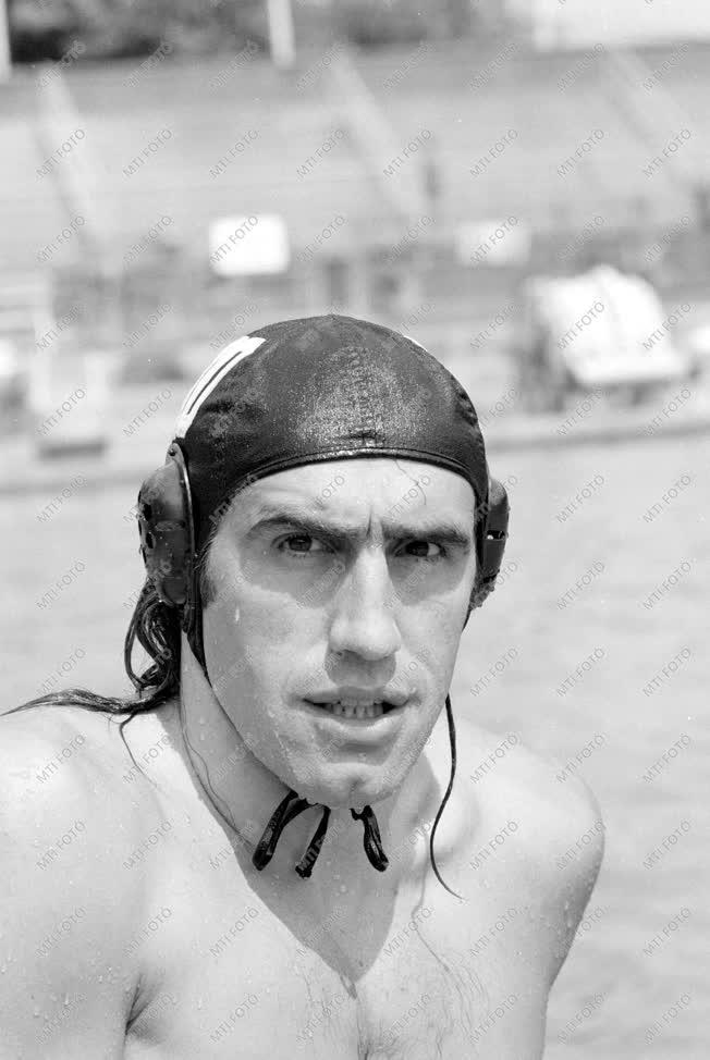 Faragó Tamás olimpiai bajnok vízilabdázó