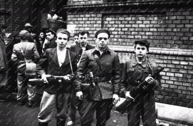 Történelem - 1956-os forradalom és szabadságharc
