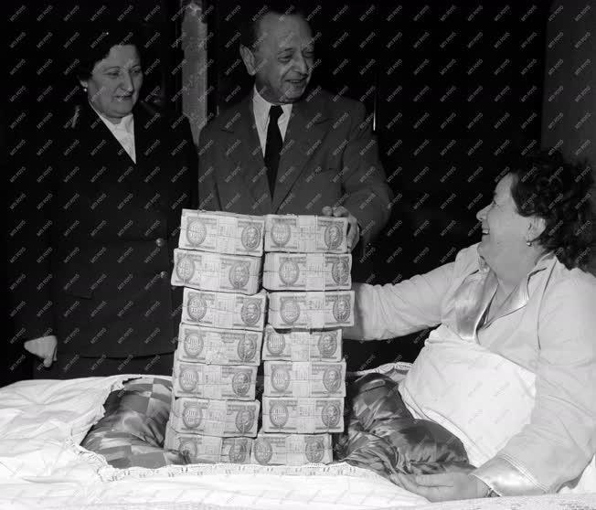 Szerencsejáték - Lottó nyeremény