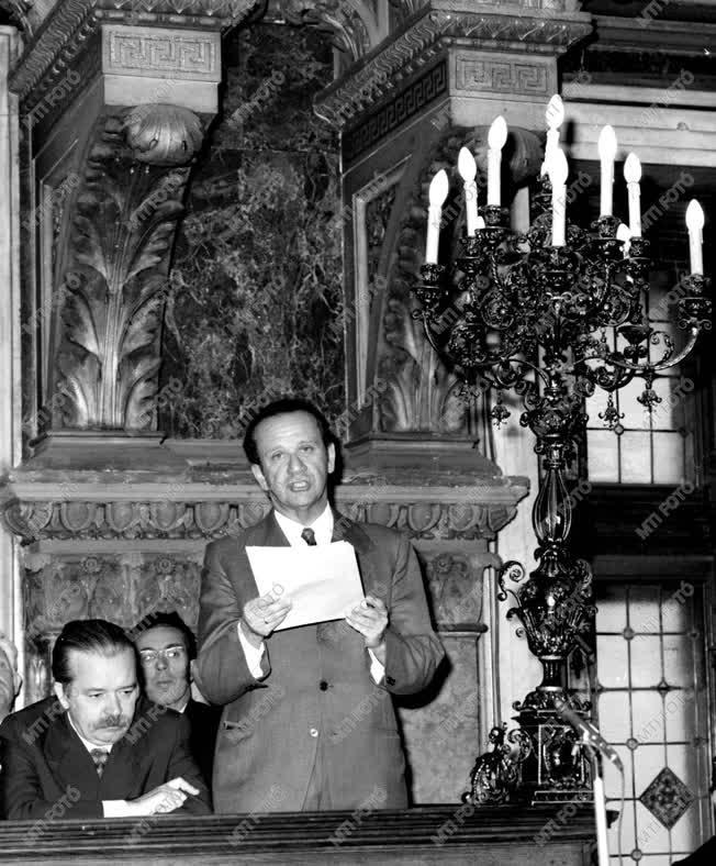 Kossuth emlékülés Budapesten