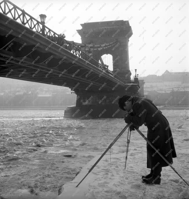Fényképészet - Tél Budapesten
