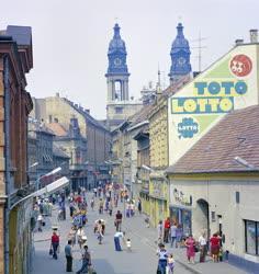 Városkép - A pápai Kossuth Lajos utca