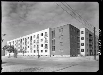 Városkép - Csepeli élmunkás lakóházak