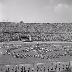Sport - A Népstadion ünnepélyes megnyitása