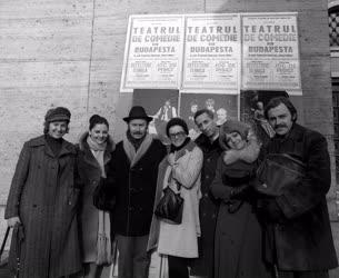 Vígszínház társulata Romániában