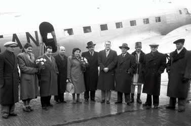 Külpolitika - Román kormányküldöttség Budapesten