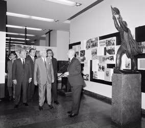 Külkapcsolat - Ludvik Svoboda a Budapesti Történeti Múzeumban