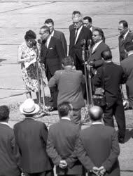 Külkapcsolat - U Thant ENSZ-főtitkár Magyarországon