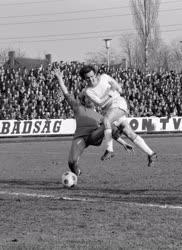 Sport - Bp. Honvéd - Békéscsaba labdarúgó-mérkőzés