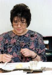 A Magyar Rádió Karinthy Színpadának művészei