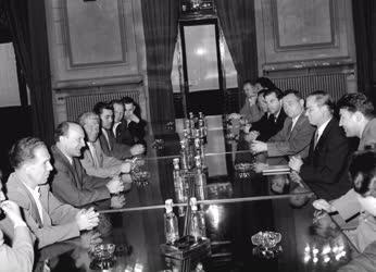 Külkapcsolat - Komszomol küldöttség Magyarországon