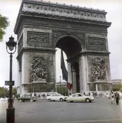 Városkép - Párizs - Diadalív