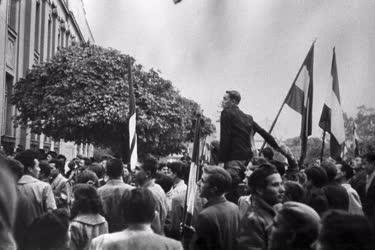 Belpolitika - 1956-os forradalom - Mosonmagyaróvár