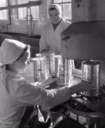 Élelmiszeripar - Dunakeszi konzervgyár