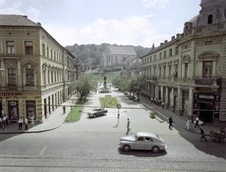 Városkép - Miskolc - Szabadság tér