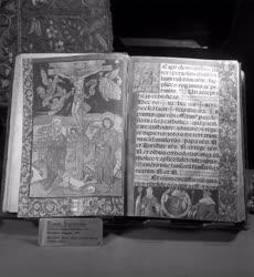 Kiállítás - Kódex miniatura kiállítás az Iparművészeti Múzeumban