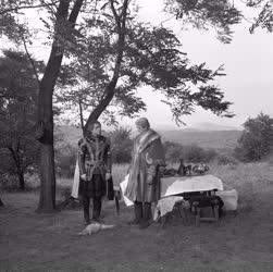 Kultúra - Film - György barát című tv film forgatása