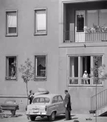 Településfejlesztés - Új lakótelep Lágymányoson
