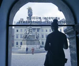 Városkép - Sopron főtere