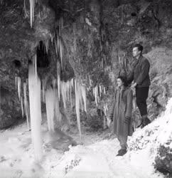 Szabadidő - Lillafüredi vízesés télen