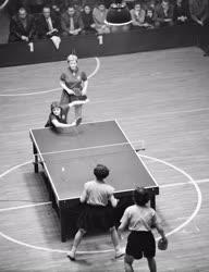 Sport - Magyarország-Kína nemzetközi asztalitenisz mérkőzés