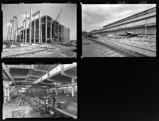 Ipar - Építkezés - Tiszapalkonya Hőerőmű, és Lenin Kohászat