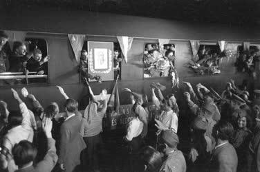 Parasztküldöttség tanulmányúton a Szovjetúnióban