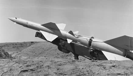 Honvédelem - Magyar Néphadsereg - Éles rakétalövészet