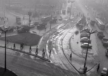 Városkép - Budapest - Marx tér - Bajcsy-Zsilinszky út