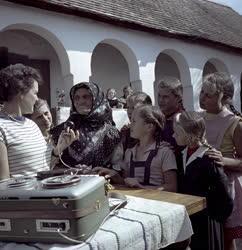 Kultúra - Néprajzi gyűjtés magnetofonnal
