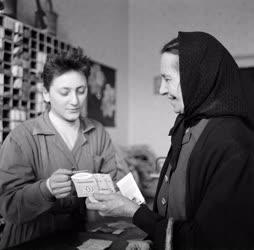 Kereskedelem - Vetőmag bolt a Moszka téren