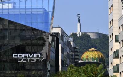 Városkép - Budapest - Corvin sétány