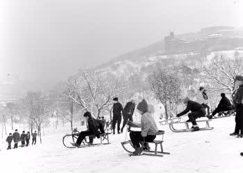Városkép-életkép - Téli sportok - Vakáció