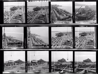 Közlekedés - Épül a Komp IV. a balatonfüredi hajógyárban