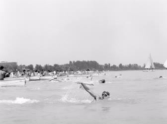 Sport - Életkép - Balaton-átúszó bajnokság