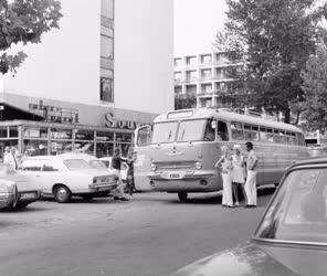 Városkép - A siófoki szállodasoron