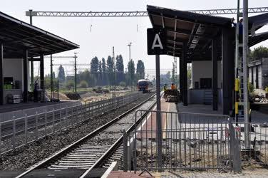 Közlekedés - Budapest - Átépül az Angyalföld vasútállomás
