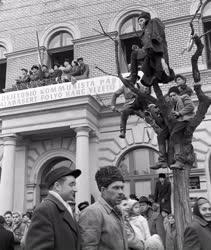 Külkapcsolat - A szovjet kormányküldöttség látogatása Szolnokon