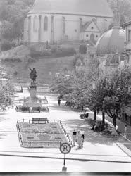 Városkép - A miskolci Szabadság tér látképe