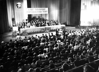 Belpolitika - Kádár János pártgyűlésen