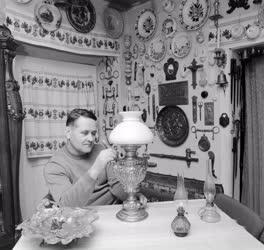 Hobbi - Lámpagyűjtő - Borus Ferenc gyűjteménye petróleumlámpákból
