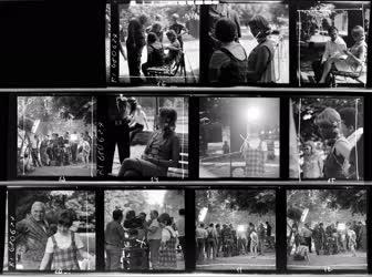 Kultúra - Elsietett házasság című film forgatása