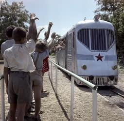 Közlekedés - A sztálinvárosi úttörővasút