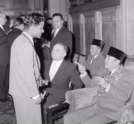 Külkapcsolat - Szukarno indonéz elnök Budapesten