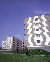 Városkép - Várostervezés - Az új paksi lakótelep