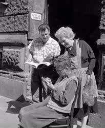 Filmművészet - A Házasságból elégséges című film forgatása