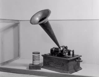 Közgyűjtemény - Gyűjtik a Műszaki emlékmúzeum anyagát - Fonográf